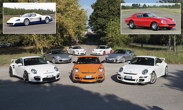 'Automotive Aladdin's cave' of cars including Ferraris and Porches goes under the hammer
