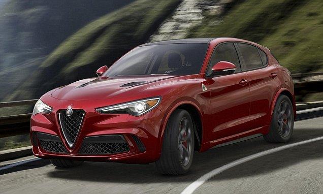 Alfa Romeo's Stelvio SUV revealed as resurgence continues