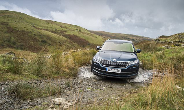 Skoda tested its new Kodiaq on the UK's most extreme school run