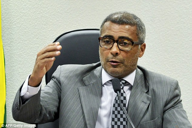 Former Brazil striker Romario could be the perfect man to replace Sepp Blatter as FIFA president