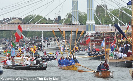 Lamentable: The BBC's half-hearted coverage of the Jubilee river pageant betrayed its contempt for patriots and monarchists