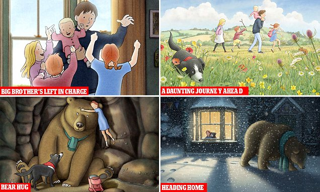 Children's book We're Going On A Bear Hunt brought to life in animated film