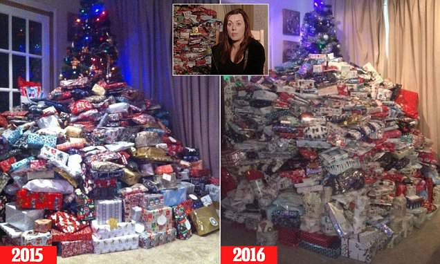 Channel 5's Xmas Excess: Parents Splash The Cash shows mother buy children 96 gifts EACH