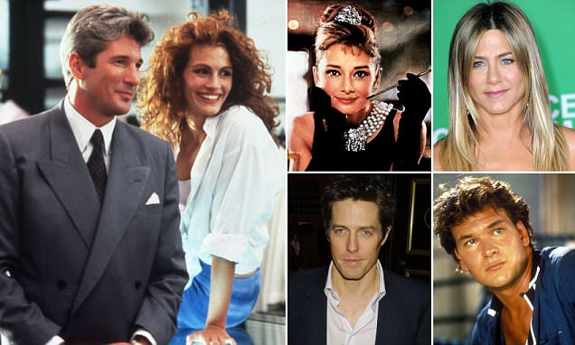 Who did YOU have a crush on? The most lusted after romantic heroes of all time are