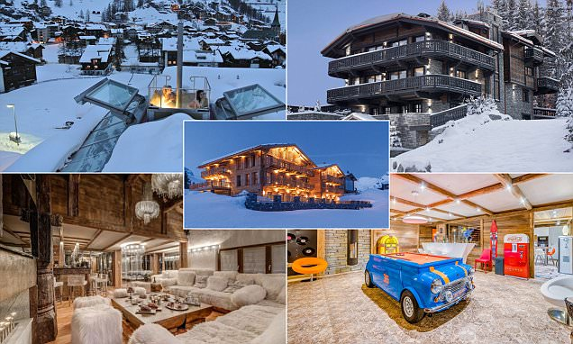 The peak of luxury: A flying hot-tub, built-in sushi bars and bling galore - the luxury