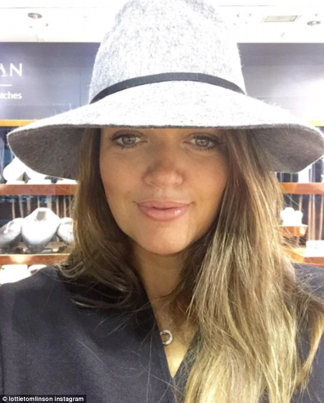 'Beautiful': Lottie also shared a sweet snap of Johannah on Sunday, writing on Instagram: 'My beautiful Mum... I love you forever'