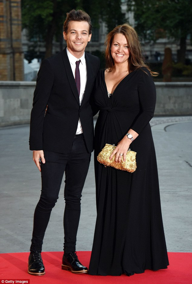 Proud mother: Louis also paid tribute to his mother by performing at the X Factor final. Before her death, Johannah had expressed how excited she was to see him perform on the show