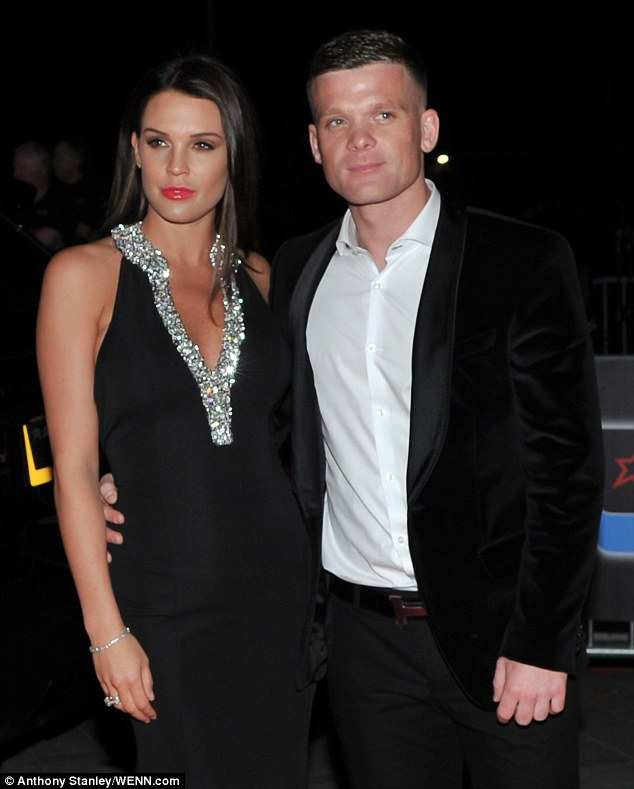 Planning baby no4: Danielle is engaged to Michael O'Neill (right, in October 2015)