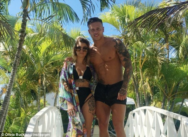 The happy couple: Olivia and Alex found love when they met on the dating show earlier this year, although their romance hit some rocky ground before taking off after the hunk hooked up with Zara Holland