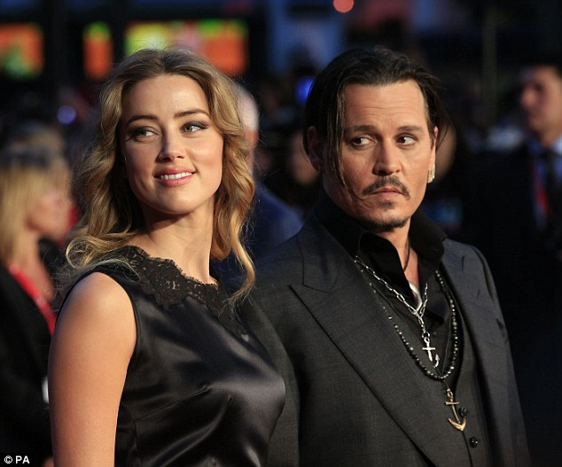 Depp now refuses to pay Heard the $6.8million divorce settlement they agreed upon, and Heard's lawyers have asked a judge with the Los Angeles Supreme Court to act against Depp and force him to pay