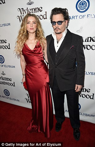 Heard filed for divorce from Depp in May after one year of marriage