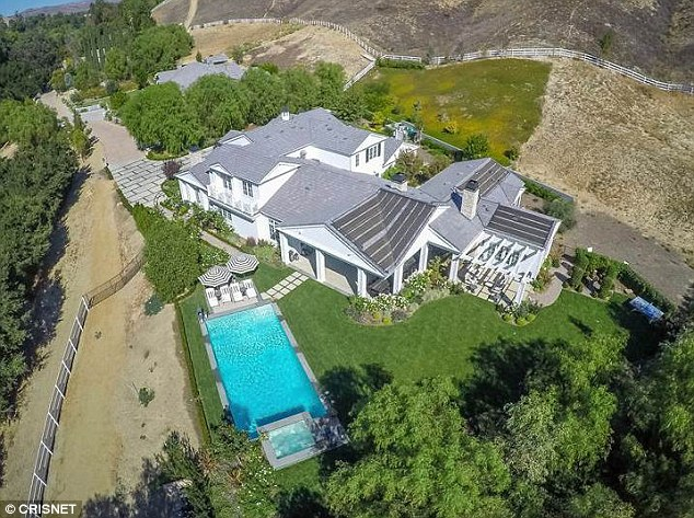 Rented out: Kylie Jenner reportedly has rented out her home in the gated community of Hidden Hills, California to half-brother Rob Kardashain and his fiancee Blac Chyna