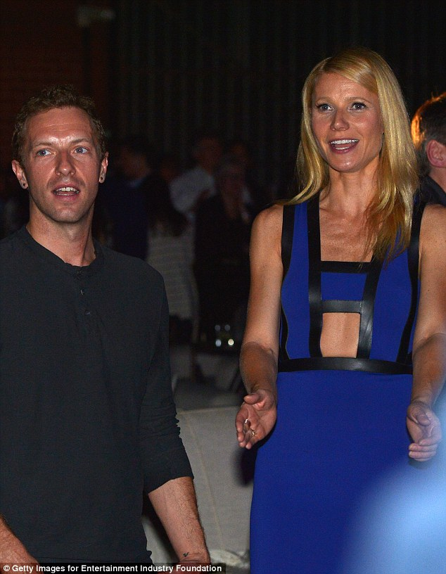 Inspired by Gwyn? Chris' ex wife Gwyneth Paltrow, 44, is also a philanthropist, donating to charities including the American Cancer Society and UNICEF