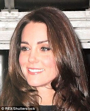 Royle or Royal? Lisa Appleton, 48, did her best Kate Middleton, 34, impression as she took to Buckingham Palace in a bid to persuade unsuspecting tourists she was the Duchess of Cambridge