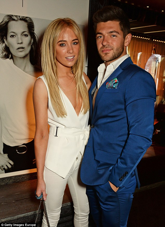 Way back when: Nicola dated Alex, who was notorious for his philandering ways while seeing co-star Binky Felstead, after they met in August 2014 while making an appearance with co-star Jamie Laing at the Naas Court Hotel in Co. Kildare, Ireland