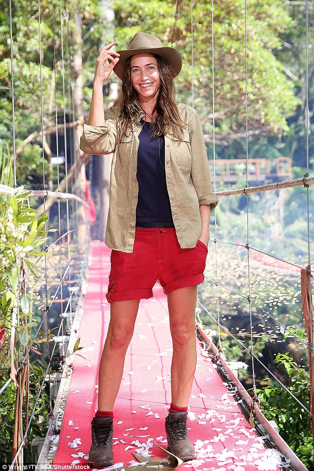 Wild thing: In November Lisa was the second celebrity to be evicted from the I'm A Celebrity camp after finding herself in the bottom two alongside Carol Vorderman