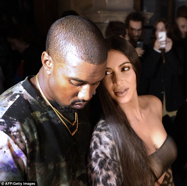 Kim Kardashian may not be too happy with her husband Kanye (pictured together in September) after he met  for a 15-minute sit-down today with Donald Trump - the man who once shamed her for having a 'fat a**'