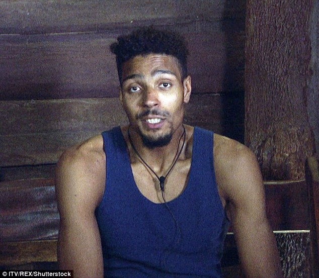 Back in blighty: Jordan was the fourth star to be eliminated from the I'm A Celebrity jungle in a move that left his campmates in tears