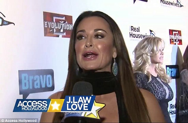 'Oh my god I love her so so so much. I love you Jennifer!' Kyle Richards said