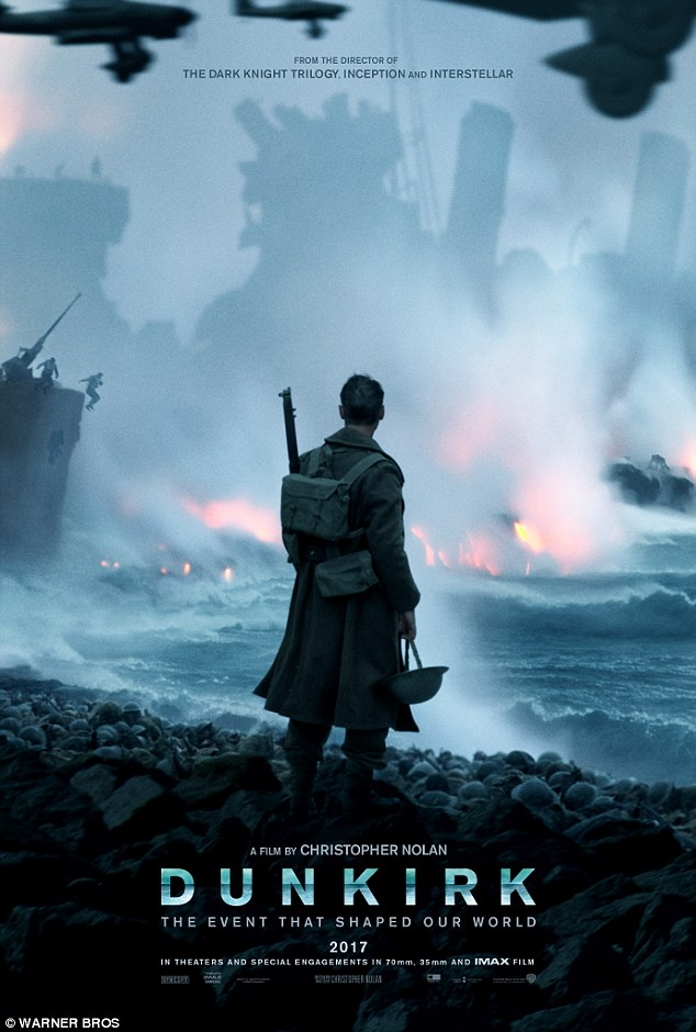 Is that Harry Styles? A first official promotional poster for Christopher Nolan's World War II drama Dunkirk has prompted feverish speculation about one of its more recognisable ensemble cast-members