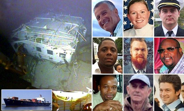 'I'm a goner': Audio transcripts reveal the desperate final moments of the crew of sinking