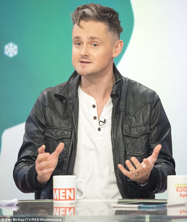 'I nearly lost my wife and daughter': Keane frontman Tom Chaplin told Loose Women on Tuesday he stayed awake for FOUR nights following cocaine binge in 2015