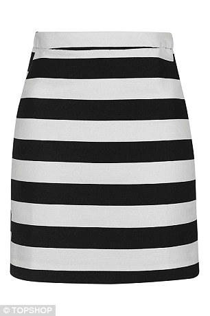 Sleek skirts: Topshop skirt, $68, topshop.com
