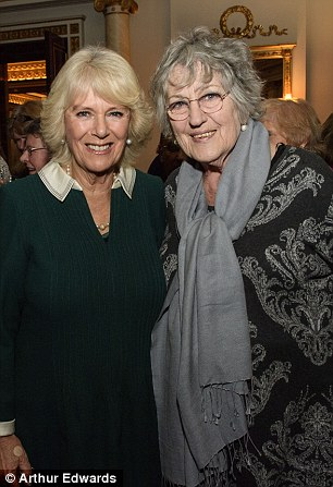 The Duchess shared a moment with influential writer Germaine Greer