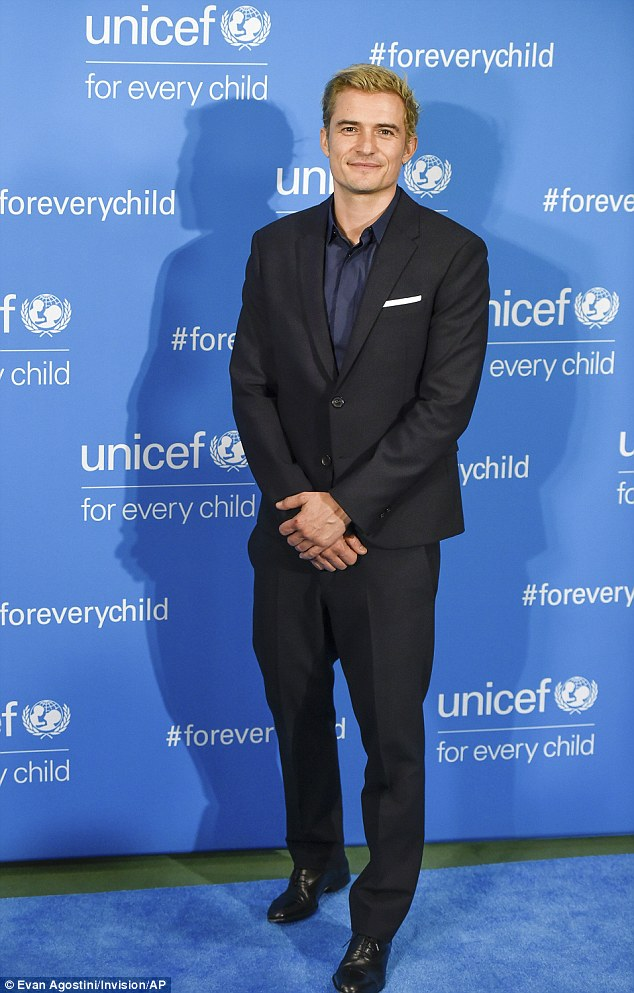 Seven years in: Orlando Bloom's been a Unicef Goodwill Ambassador since 2009