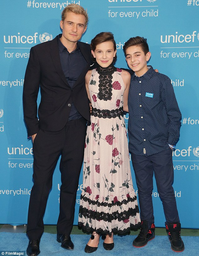 Special event: Orlando, Millie and Mustafa shined on the carpet
