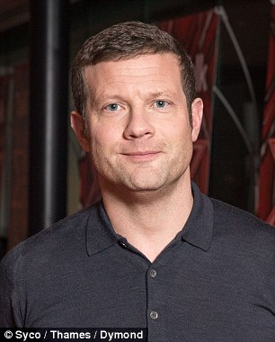 Remaining coy: X Factor host Dermot and judge Louis  remained tight-lipped about former co-star Cheryl's pregnancy