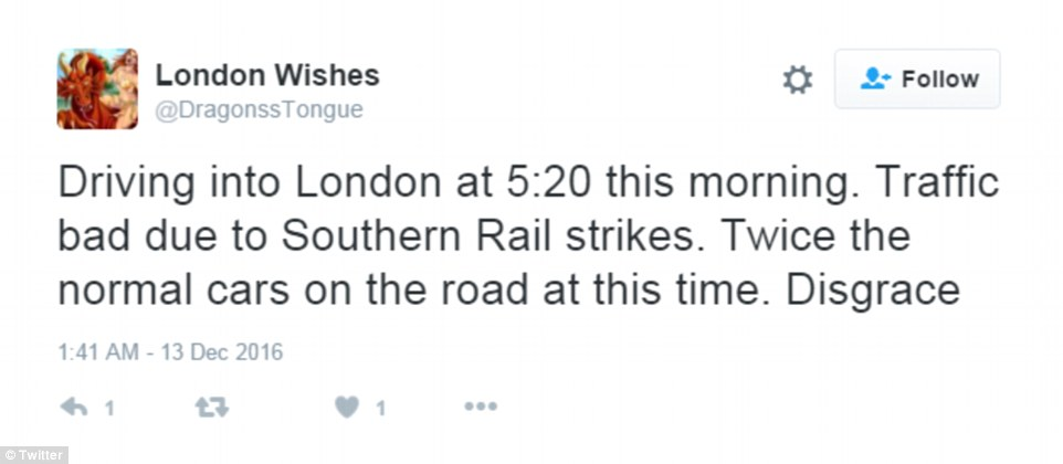 Backlash: Hundreds of Twitter users vented there anger over the strikes on social media