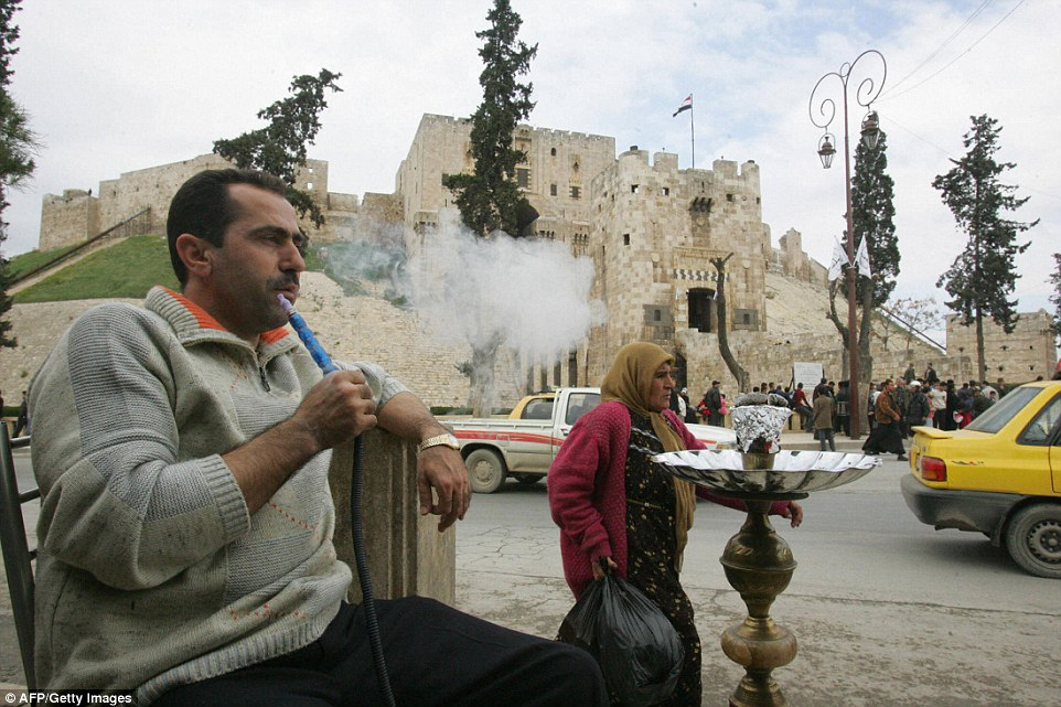 Just 10 years ago, the same citadel was bustling with tourists and visitors after Aleppo was named as theArab world's Islamic cultural capital