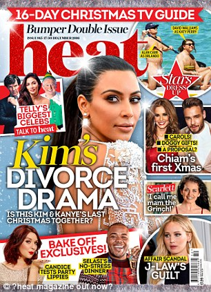 heat magazine out now