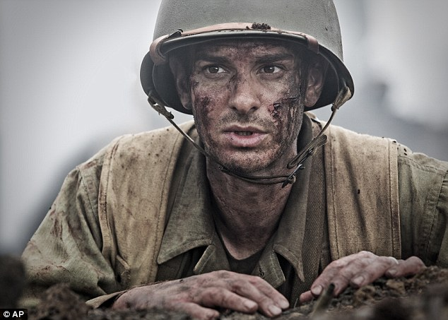 And the nominees are: Andrew has a nod in the Best Performance by an Actor in a Motion Picture, Drama category for Mel Gibson-directed movie Hacksaw Ridge