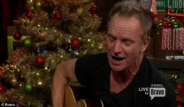 New album: Sting performed the album's lead single I Can't Stop Thinking About You