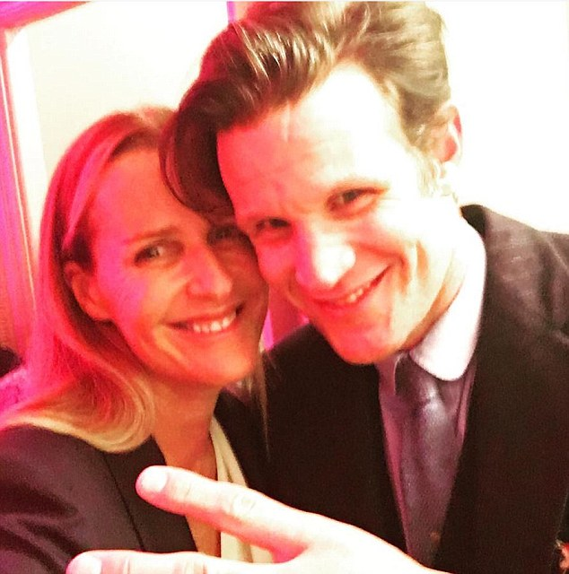 Matt Smith who plays Prince Philip in the hit Netflix series The Crown, bumped into Princess Diana's real-life bridesmaid, designer India Hicks, at a party in New York