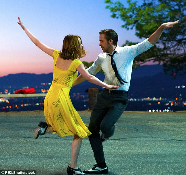 Dancing its way to glory! Musical La La Land - led by Emma Stone and Ryan Gosling - picked up nods in almost all major film categories outside the Drama nominees as the Golden Globe 2017 nominations were announced, with seven nods in total
