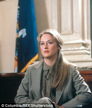 Early start: Over the years, Meryl has won the Golden Globe a stunning eight times. Here first was for Kramer vs Karmer