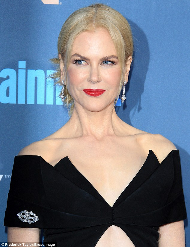 Australian actress Nicole, 49, is nominated for Best Supporting Actress for her role in the Garth Davis-directed drama, Lion