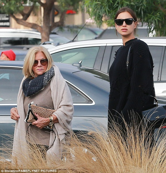 Out and about: The pair arrive at Whole Foods on their shopping expedition