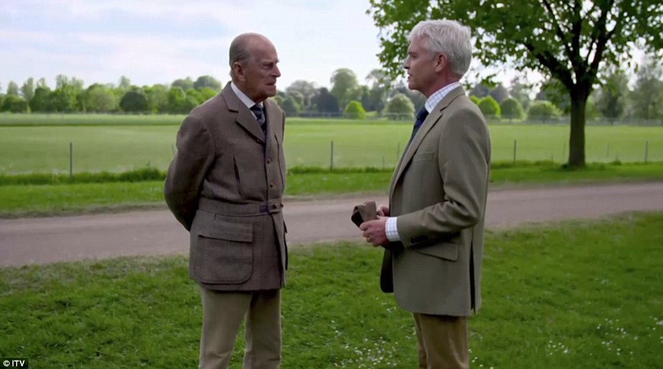 The hour-long special, When Phillip met Prince Philip: 60 Years of The Duke of Edinburgh's Award, is on ITV tonight at 9pm