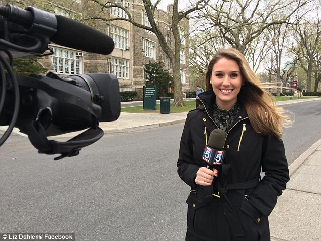 When Curanaj eventually got a job at FOX5, a full time position was given to Liz Dahlem (pictured), a woman who had less experience and was eight years younger than the veteran reporter