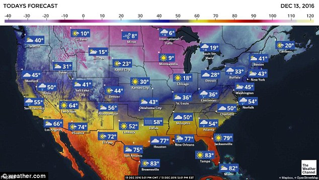 Temperatures have dropped in the Northwest, including Washington State. Seattle had an average of 40 degrees on Tuesday but temperatures reached into the twenties in Kennewick