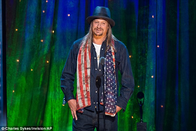 Kid Rock is among the entertainers tipped to take part in next month's inauguration ceremony