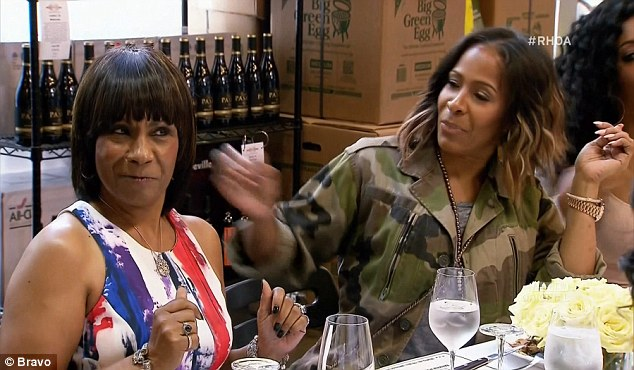 Not buying it: Mama Joyce was not believing Phaedra's explanation