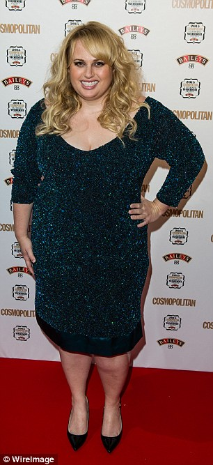 Slimming down: Rebel Wilson has reportedly shed almost 15kgs after embarking on a weight loss journey earlier this year