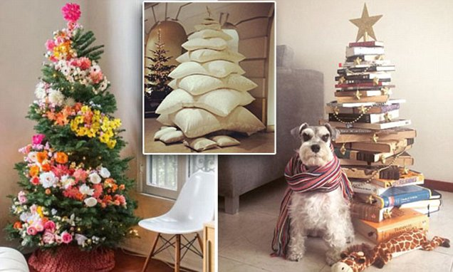 Why you should be covering your Christmas tree with flowers this festive season