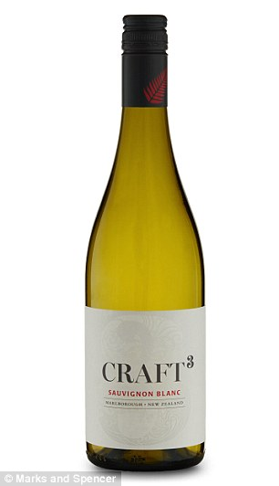 Drink up: Craft 3 Marlborough Sauvignon Blanc 2015, at £11, and No Big Dill Cocktail, £12, 50cl