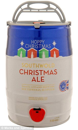 Southwold Christmas Ale made by the Adnams Brewery